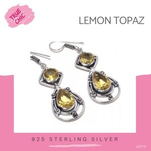 Jewelry - Lemon Topaz Dangle Earrings